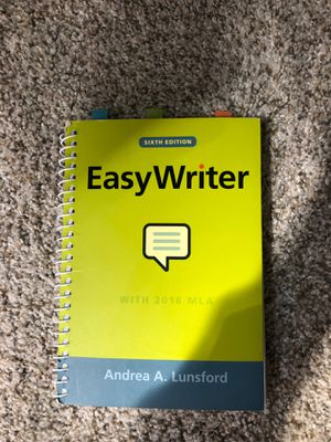 Easy Writer Sixth Edition for Sale in Wenatchee, WA
