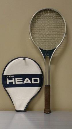"VINTAGE ""HEAD"" Aluminum Tennis Racket w/Cover - firm price for Sale in Arlington,  VA"