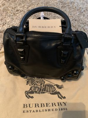 Burberry mega stud bowling bag for Sale in Brooklyn Park, MN