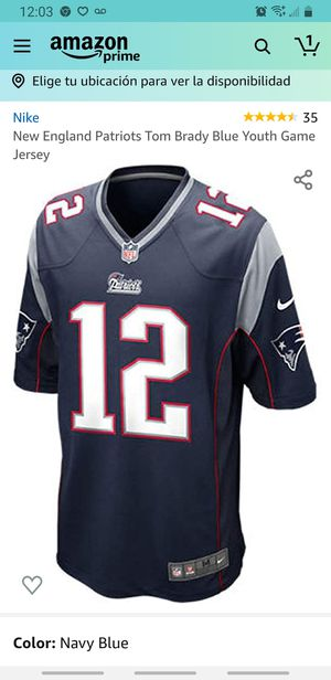 NFL jersey patriots for Sale in Montclair, CA