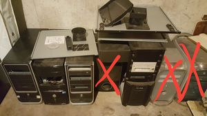 Computer parts and case for Sale in Blue Springs, MO