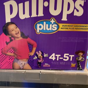 HUGGIES PULL-UPS 4T-5T - CT 102 Sealed Box for Sale in Goodyear, AZ