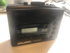 Vintage Sony Walkman - WM-FX41 - AM/FM - Cassette - W/Carry Case - Tested for Sale in Littleton, CO
