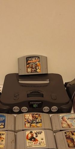 Nintendo 64 Bundle 10 Games And 2 Controllers Tested And Works Great for Sale in Cypress,  TX