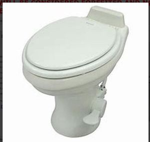 Domestic ceramic toilet for RV camper (new) for Sale in Goodyear, AZ