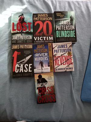 James Patterson books. for Sale in Point Judith, RI