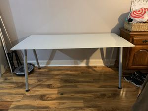 Ikea Glass Top Desk for Sale in Virginia Beach, VA
