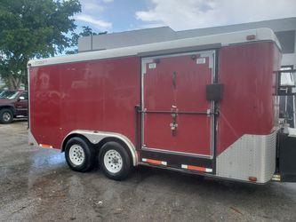 Red Suncoast Trailer 16'L x 8'W for Sale in Boca Raton,  FL