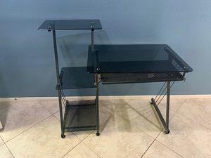 Glass desk for Sale in Menifee, CA
