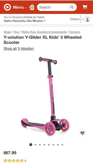 Brand new Glider XL scooter for Sale in Honolulu, HI