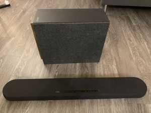 Yamaha surround system and Jamo subwoofer for Sale in Seattle, WA