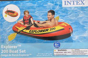 INTEX Explorer 200 boat set for Sale in Murfreesboro, TN