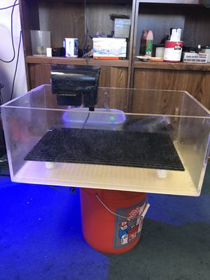 AA Advanced Acrylic 15 Gallon sump with egg crate for Sale in Santa Ana, CA