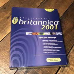 Encyclopedia Britannica 2001 CD ROM for Sale in Rocky Point,  NY