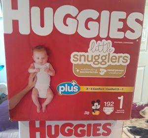 Baby diapers snuggies 192 total $40 south la 90043 for Sale in Windsor Hills, CA