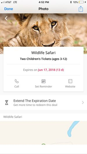 Wild life safari for Sale in Milwaukie, OR
