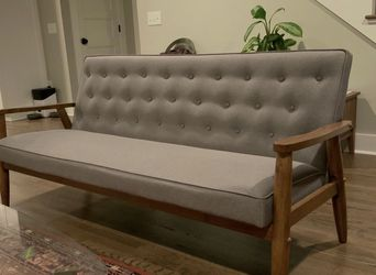 Target Mid Century Tufted Sofa for Sale in Durham,  NC