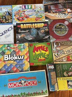 Board Game Lot for Sale in Los Angeles,  CA