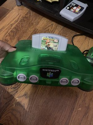 Original Nintendo 64 Green for Sale in Miami, FL