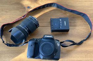 Canon EOS 7D Camera with 18-135mm lense- Lightly used for Sale in Riverwoods, IL