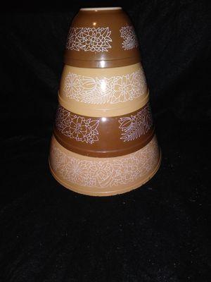 Vintage Pyrex bowl set for Sale in Salem, OR