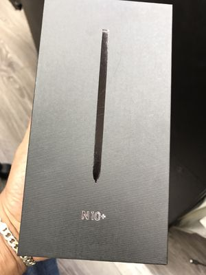 Note10 plus factory unlocked no credit needed pay down payment only for Sale in Houston, TX