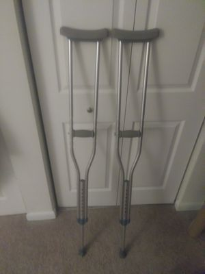 Adjustable medical crutches for Sale in Apex, NC