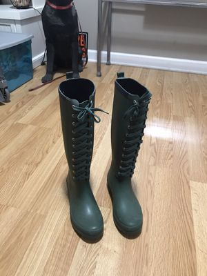 Green Lemon rain boots for Sale in Oak Park, IL