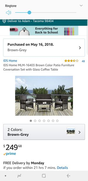 New And Used Patio Furniture For Sale In Olympia Wa Offerup