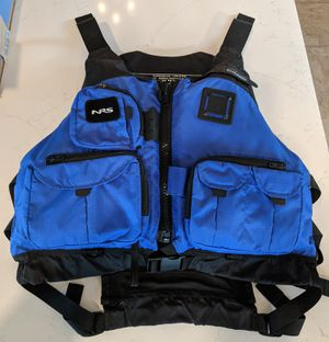 NRS Chinook Fishing PFD - life jacket for Sale in Lovettsville, VA