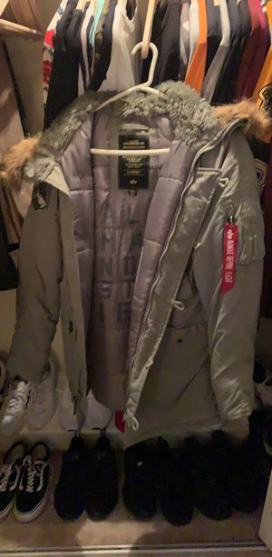 Alpha Industries Parka Small for Sale in Wellesley, MA