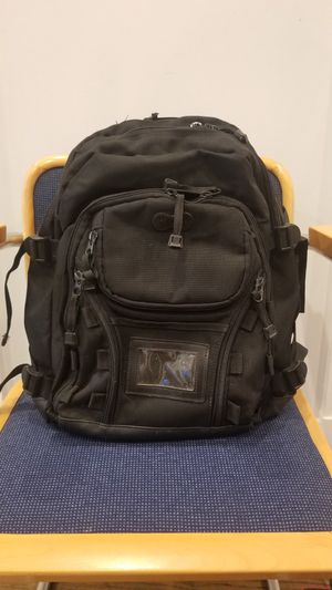 Black backpack, various compartments, outdoor, travel, hiking, school, work for Sale in Washington, DC