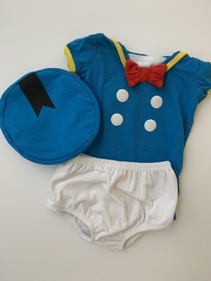 Disney Donald Duck baby costume 12months for Sale in Orlando, FL