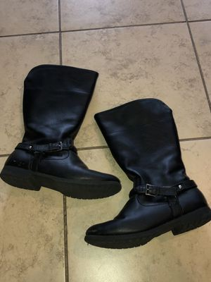 Faded Glory Boots- youth 3 for Sale in Gulfport, MS