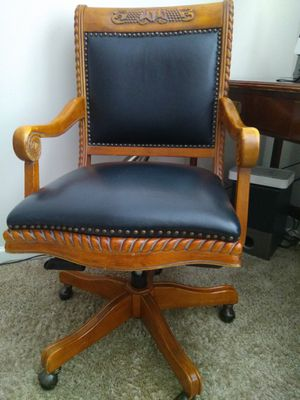 Office Chair, solid Hand made MAKE OFFER for Sale in Smyrna, TN