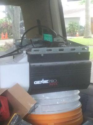 Genie pro max garage door opener for Sale in Davie, FL