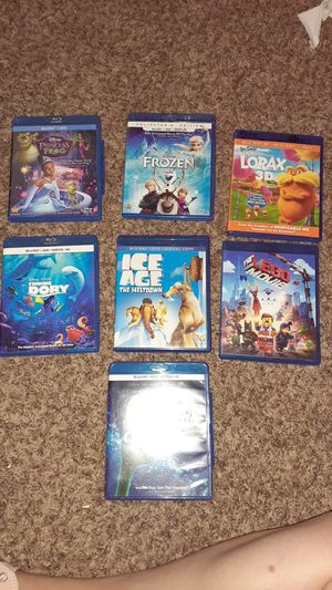 Disney movies all perfect condition for Sale in Orting, WA