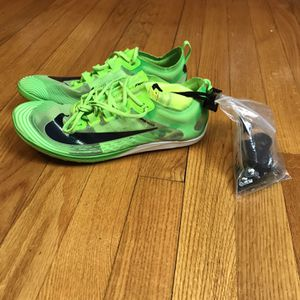 Nike Zoom Victory XC 5 Electric Scream Green AJ0847-303 Men Size 7.5 New without box Disclaimer ** Missing One of the small spikes for Sale in French Creek, WV