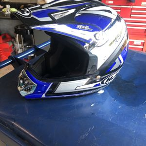 HJC L/XL Youth Motocross helmet for Sale in Snohomish, WA