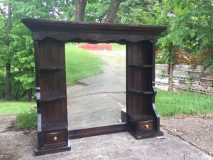 Hutch top mirror for Sale in Pittsburgh, PA