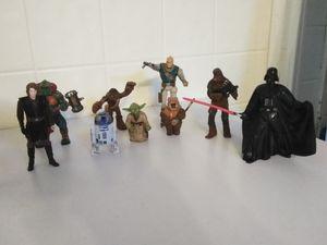 Vintage star wars action figures for Sale in Tampa, FL