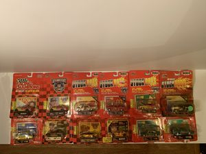 Lot Of 12 Racing Champions 1/64 Stock Rods Anniversary Die Cast NASCAR Race Cars for Sale in Fresno, CA