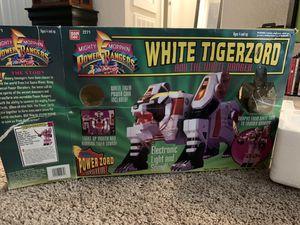 White Tigerzoid and the White Ranger for Sale in Houston, TX