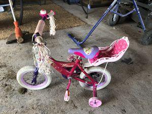 Huffy Disney Princess Toddler Bike w/training wheels for Sale in Fort Myers, FL