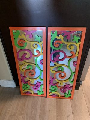 Wall mirrors decor for Sale in Garden Grove, CA