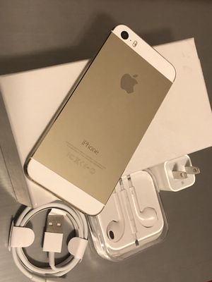 iPhone 5s excellent condition factory unlocked for Sale in Springfield, VA
