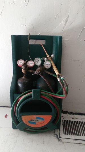 Uniweld portable cutting torch Brazier in welder for Sale in New Port Richey, FL