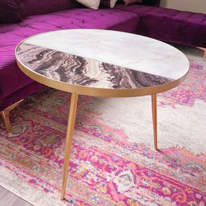 Marble Coffee Table Gold Legs for Sale in Renton, WA