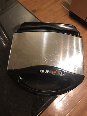 Krups waffle maker for Sale in Houston, TX