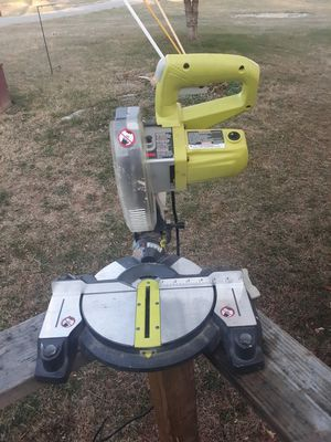 Ryobi mitter saw for Sale in Bunker Hill, WV